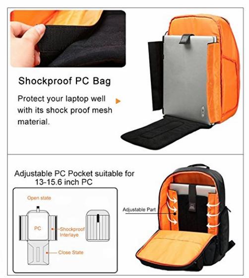 Duhud Shockproof Laptop Backpack